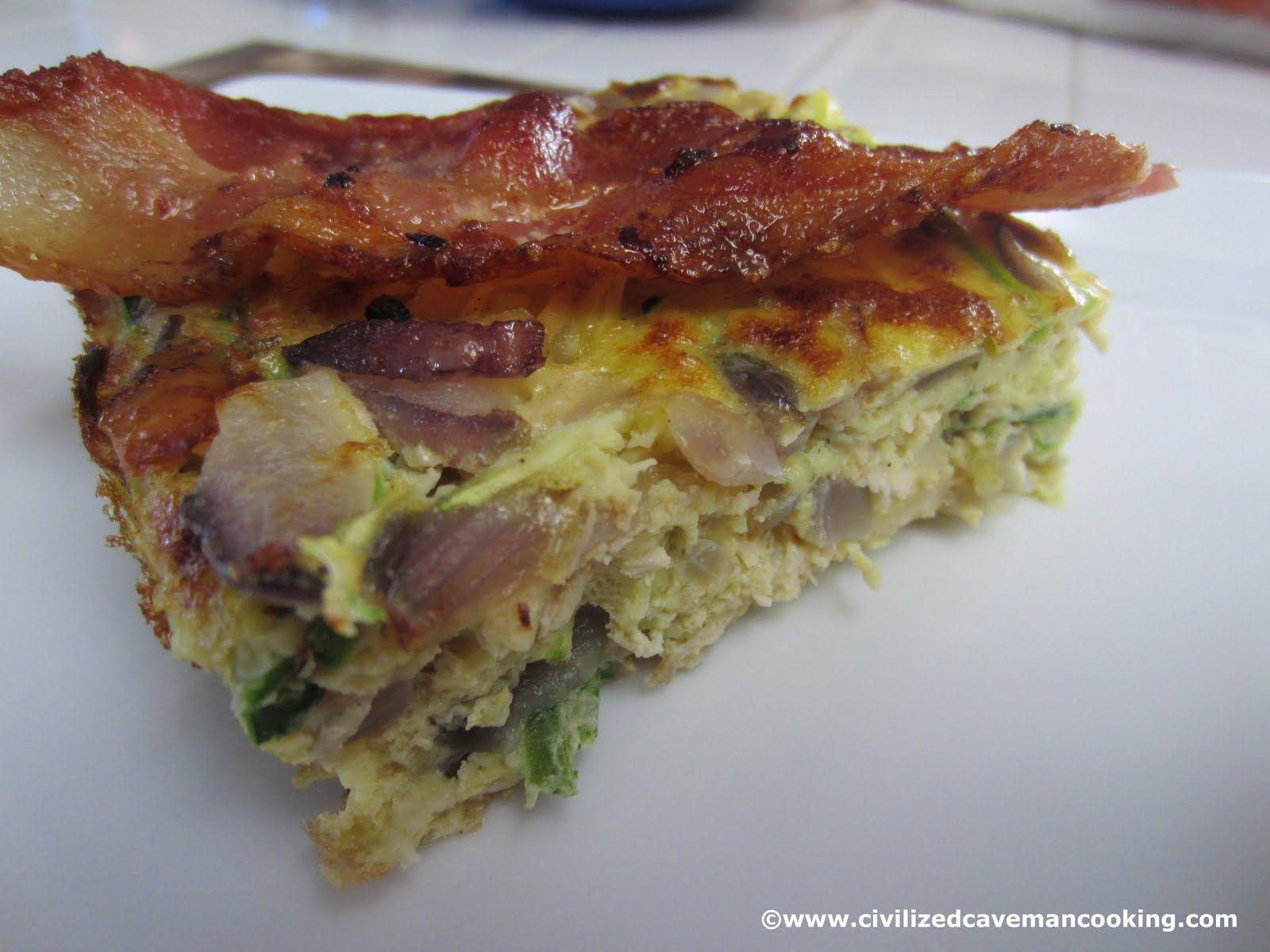 Paleo Zucchini Breakfast Casserole