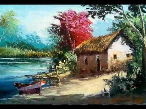 Video Aula Curso Pintura Em Tela Com Espatula Part 1 Youtube