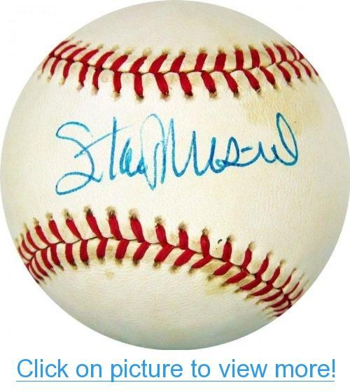 Stan Musial Autographed Ball Jsa Major League Autographed Baseballs Autographed Baseballs Mickey Mantle Stan Musial