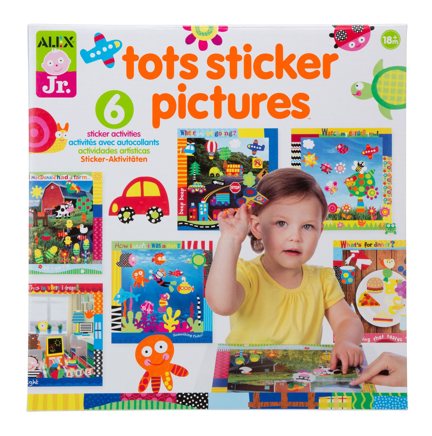 Toys for tots images  Peel stick and create little works of art with Tots Sticker