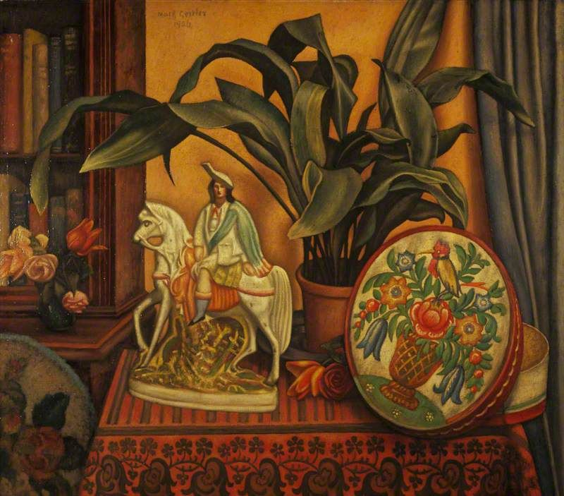 Still Life with Aspidistra by Mark Gertler Modern folk