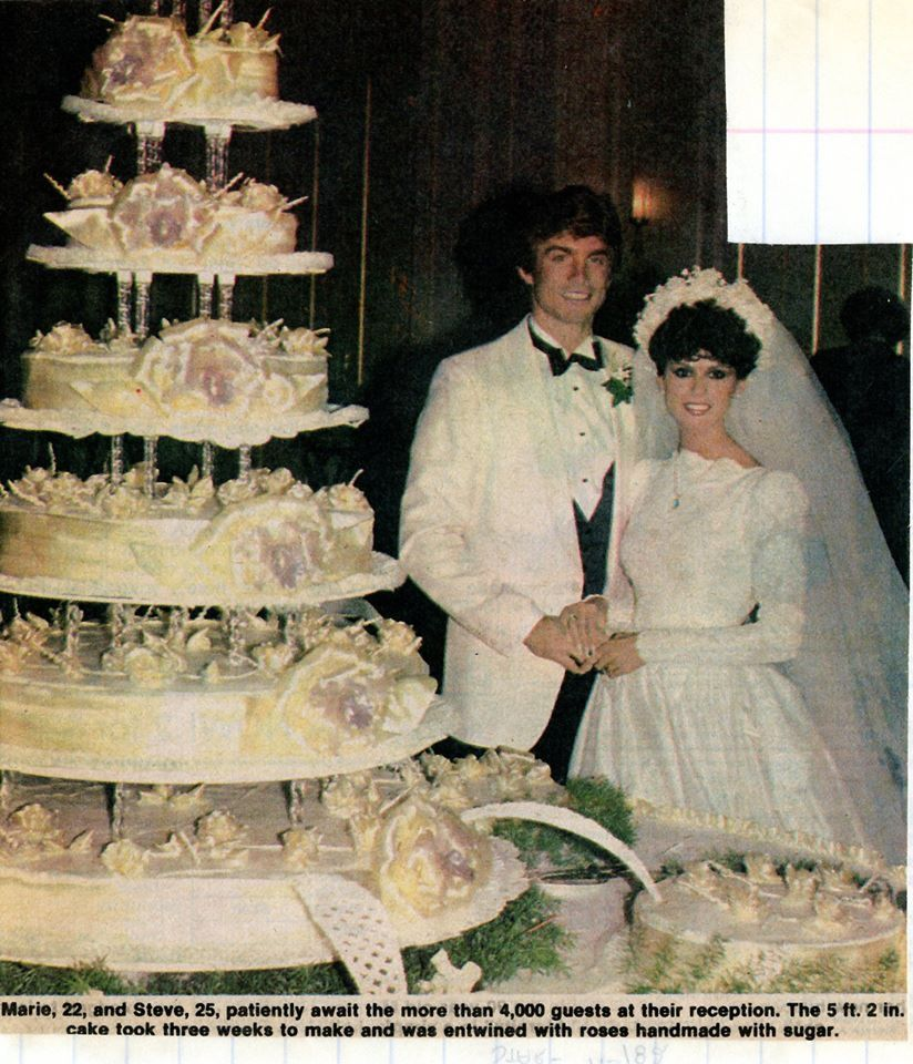 Tricia Nixon Wedding Gown: Marie Osmond And Steve Craig