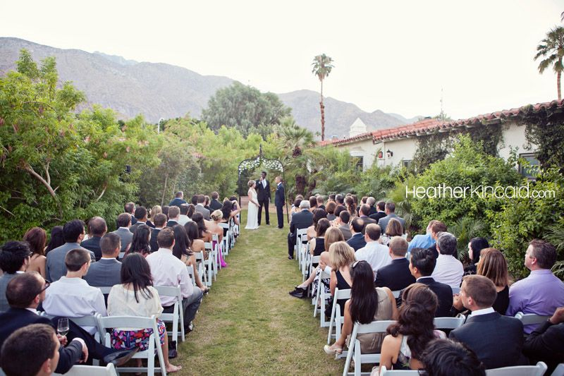 Colony Palms Hotel Wedding Palm Springs Nicole Taro Los Angeles And Portrait Photographer Heather Kincaid