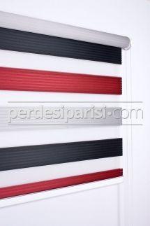 Kırmızı Siyah Plise Zebra Perde #Ucuz #Kırmızı #Siyah #Plise #Zebra #Perde #Kapıda #Ödeme #Güvenli #Alışveriş