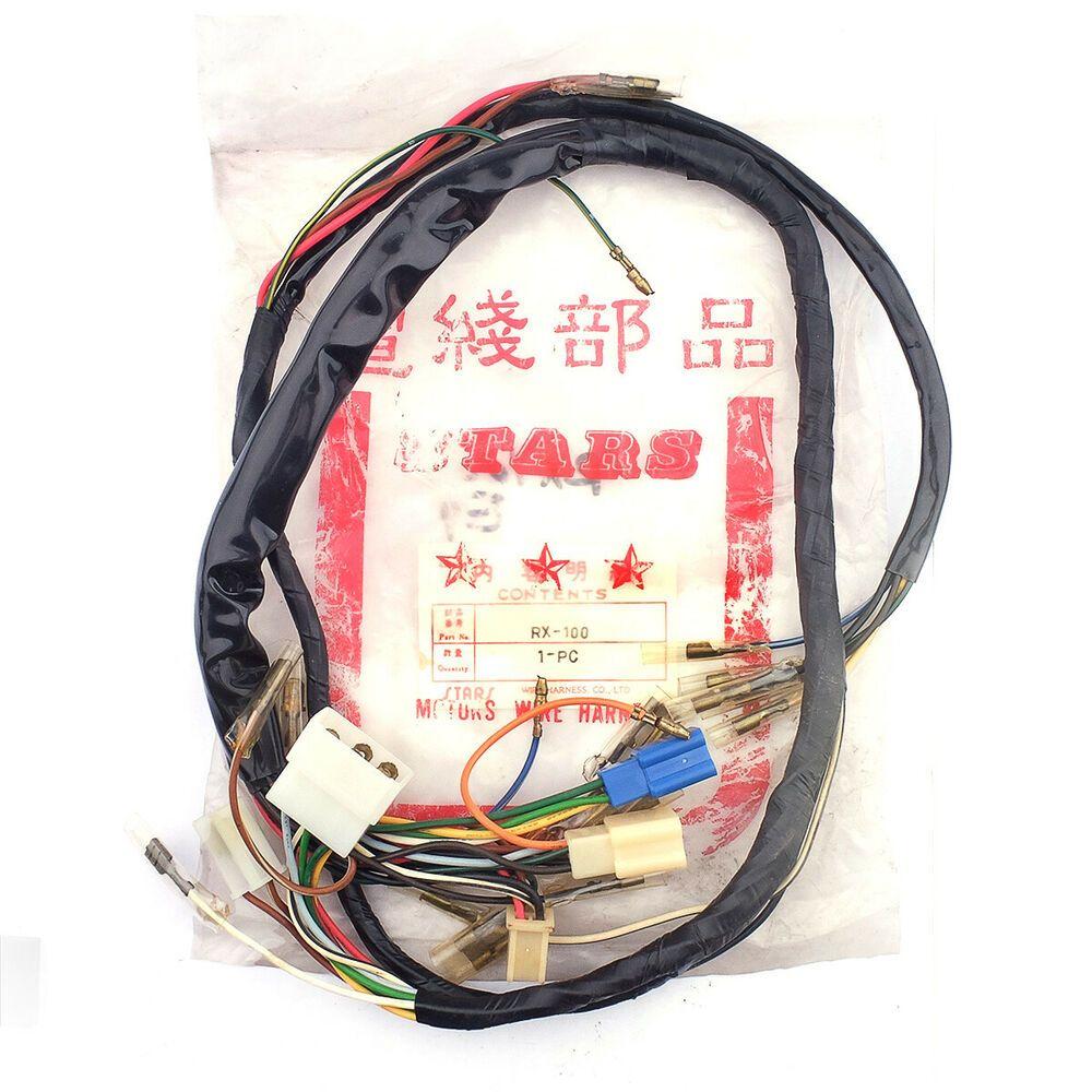 Yamaha Rx100 Wire Harness Nos Aftermarket Ebay Yamaha Rx100 Harness Ebay