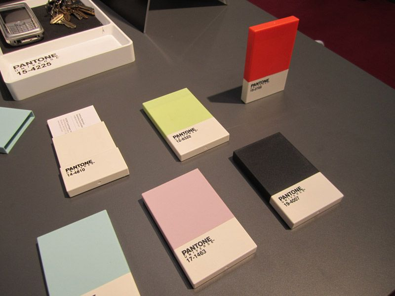 New Pantone Home and Office Products Business card holders ...