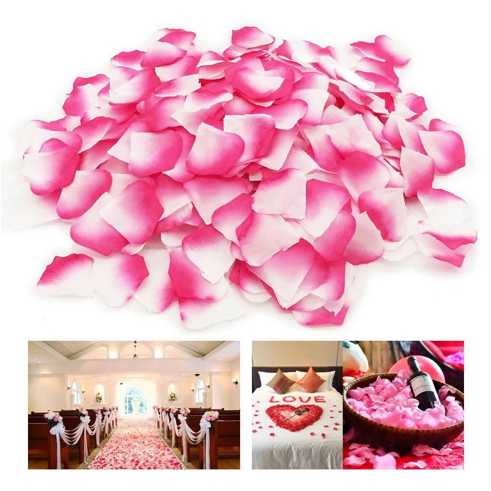Rosenblatter In Rosa Fur Diy Deko Ideen Zu Deiner Hochzeit