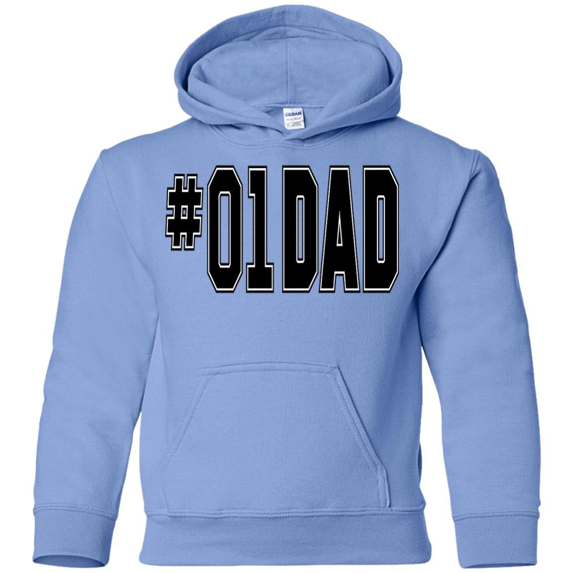 01 DAD 2 COLORS THE DUKES OF HAZZARD MENS G185B Gildan Youth Pullover Hoodie