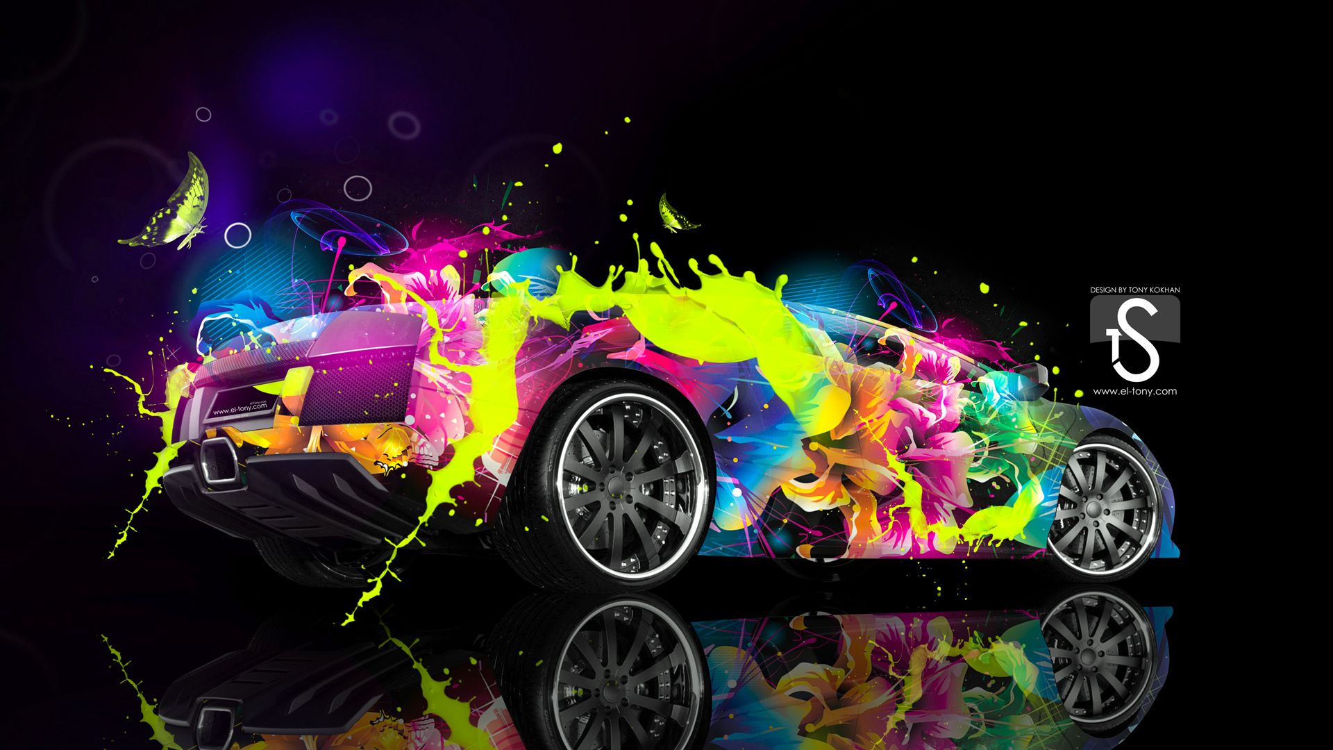 Wallpaper Fondos De Pantalla Rosario Contreras: Colorful Cars Wallpaper Full HD #s2w1t5 1920x1080 Px 1.05