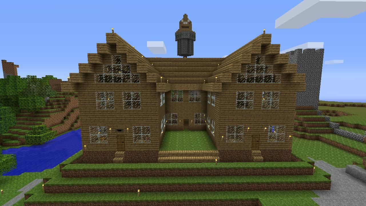 Minecraft Cobblestone House Design 48721, Category: Other Design, Publish  On: October 18