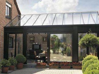 Houten pergola met glazen dak google zoeken huis