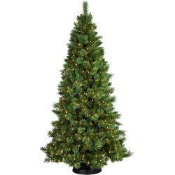 Pre-Lit 7.5' Sheridan Cashmere Pine Artificial Christmas Tree, 400 Clear Lights