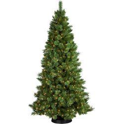 Pre-Lit 7.5' Sheridan Cashmere Pine Artificial Christmas ...