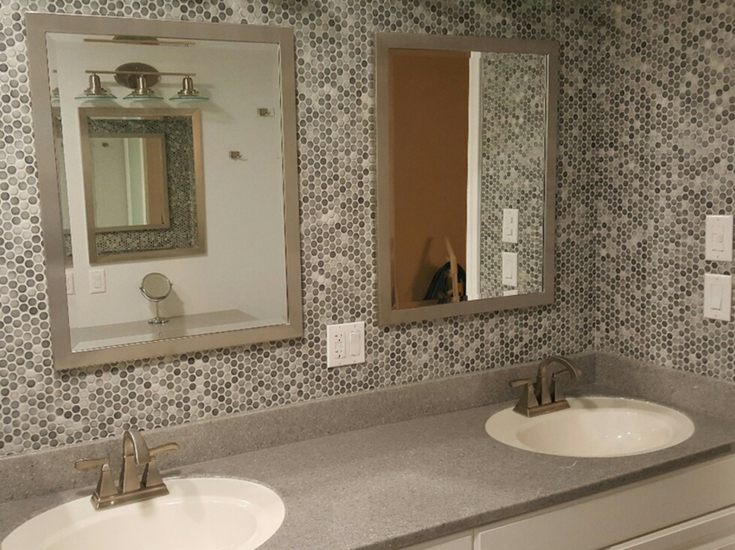 Solid Surface Bathroom Vanity