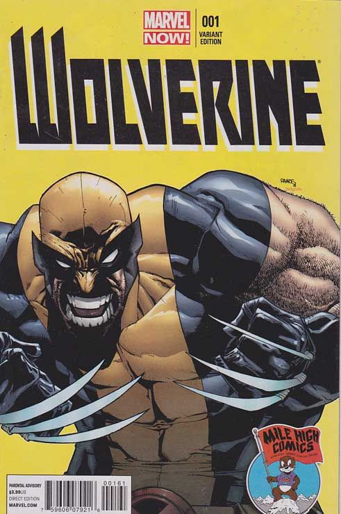 Wolverine Vol 5 1f Humberto Ramos Variant Mile High Comics Cover