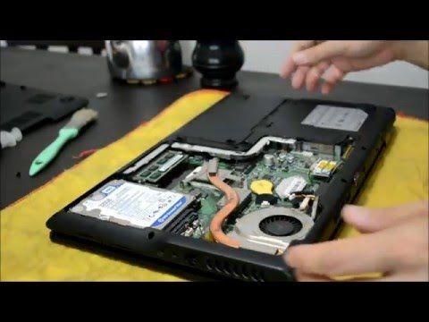 Limpieza sistema de refrigeración notebook MSI A6300
