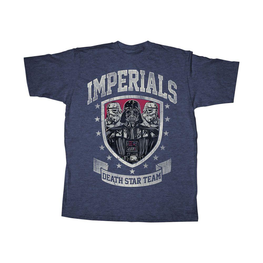 Imperials Death Star Team Darth Vader & Stormtroopers T-Shirt #empire #jedi #rebel #darkside #force