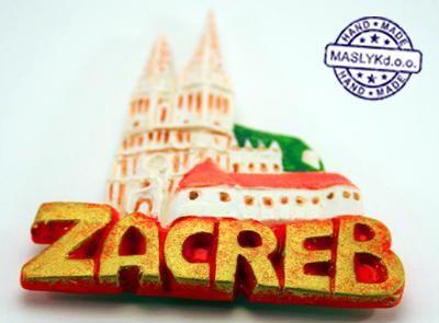 Souvenir Magnet Kaptol Zagreb image 3