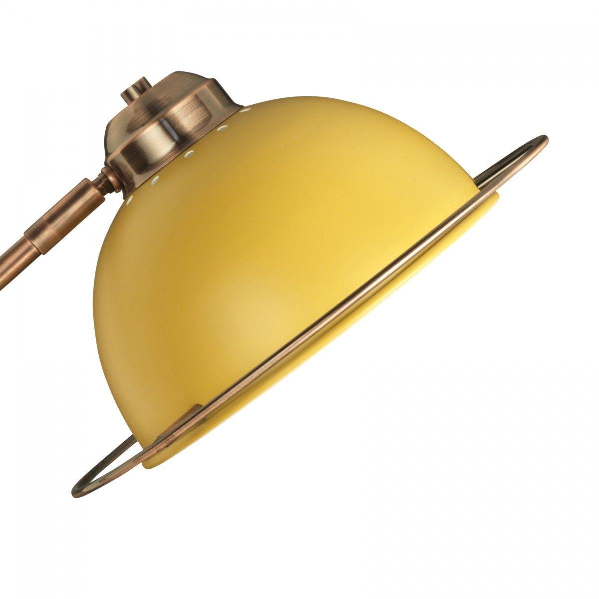 Bauhaus Adjustable Table Lamp - Ochre