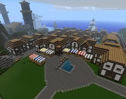Bildergebnis Fur Minecraft Mittelalter Stadt Minecraft