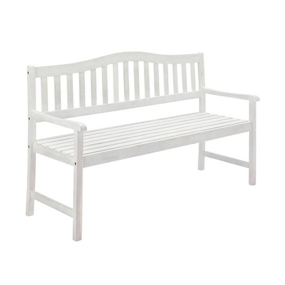 Buy Argos Home Henrietta Wooden 3 Seater Bench White Garden Benches And Arbo Arbo Argos Bench Benches Buy In 2020 White Garden Bench Garden Bench Argos Home