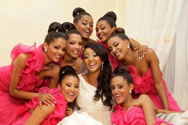 Bella Bride Africa African And African American Wedding Ideas - Ethiopian brides hairstyle