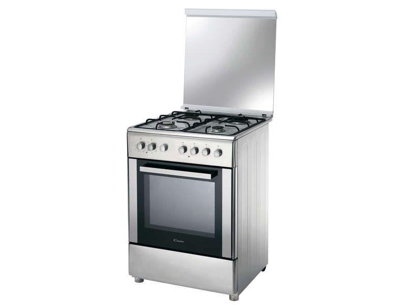 Cuisinière mixte 60 cm CANDY CBCG6X543 pas cher prix promo ...