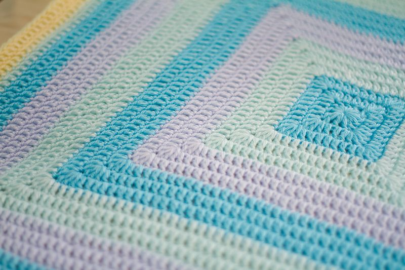In response to a few emails, here is the pattern for my hoodie baby blanket -Please email me if you have any trouble with the directions - this is my first take at writing a pattern so it might be...