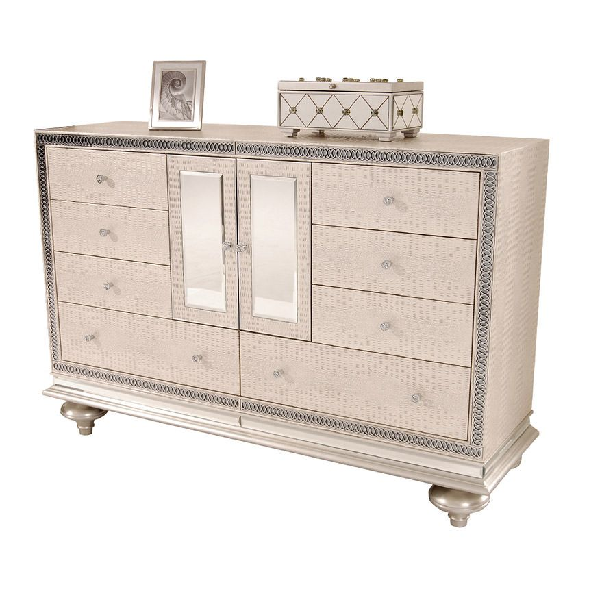 "Hollywood Swank Pearl 64"" Dresser"