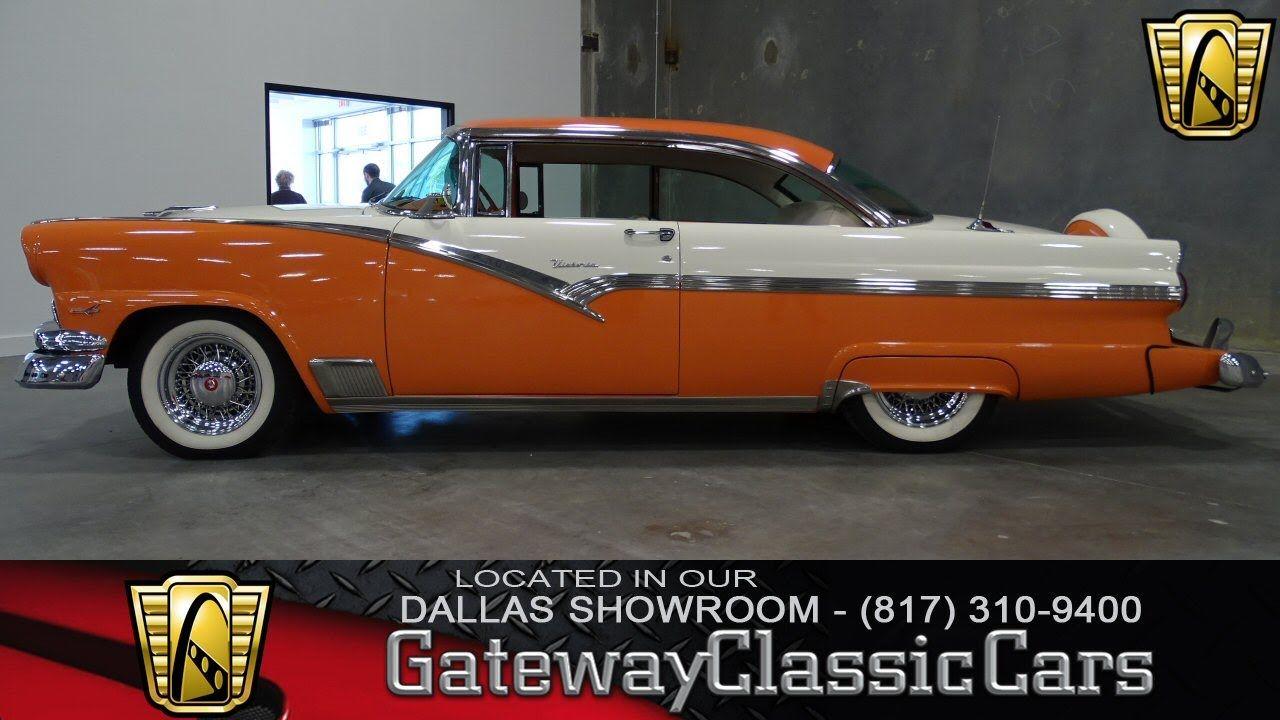 1956 Ford Victoria Stock #12 Gateway Classic Cars Dallas Showroom ...