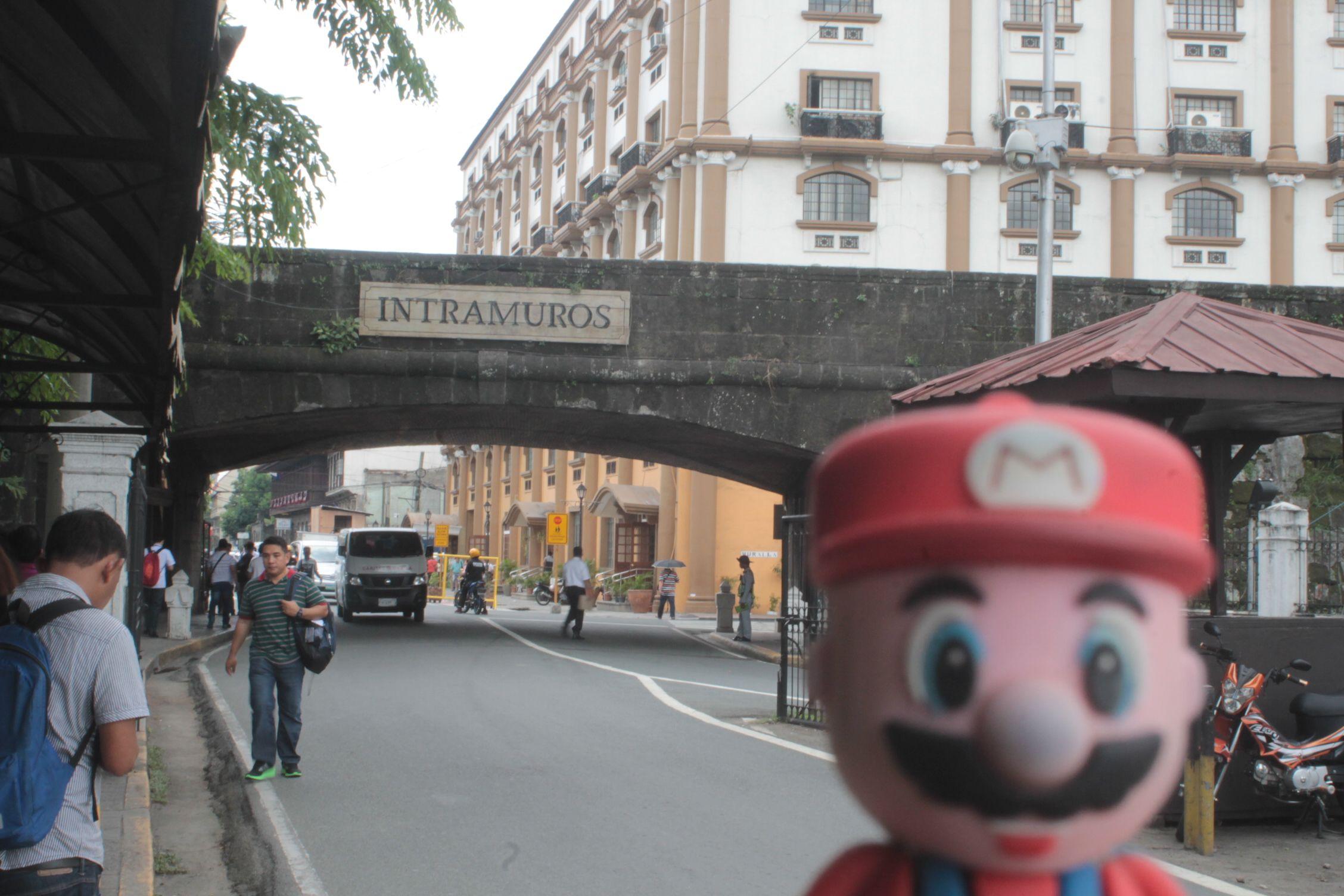 En Intramuros, Manila
