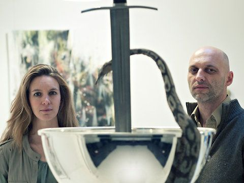 """Couples in art: """"It's like having a third person in the room, and I can be a lot more objective and less worried than in my personal work."""""""