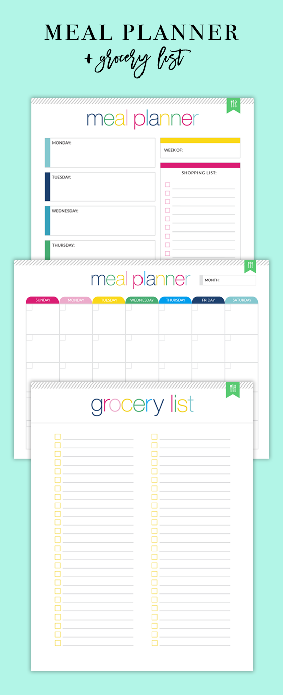 monthly menu planner meal planning daily meal planner menu planner sheet meal planner pdf weekly meal planner monthly menu planner