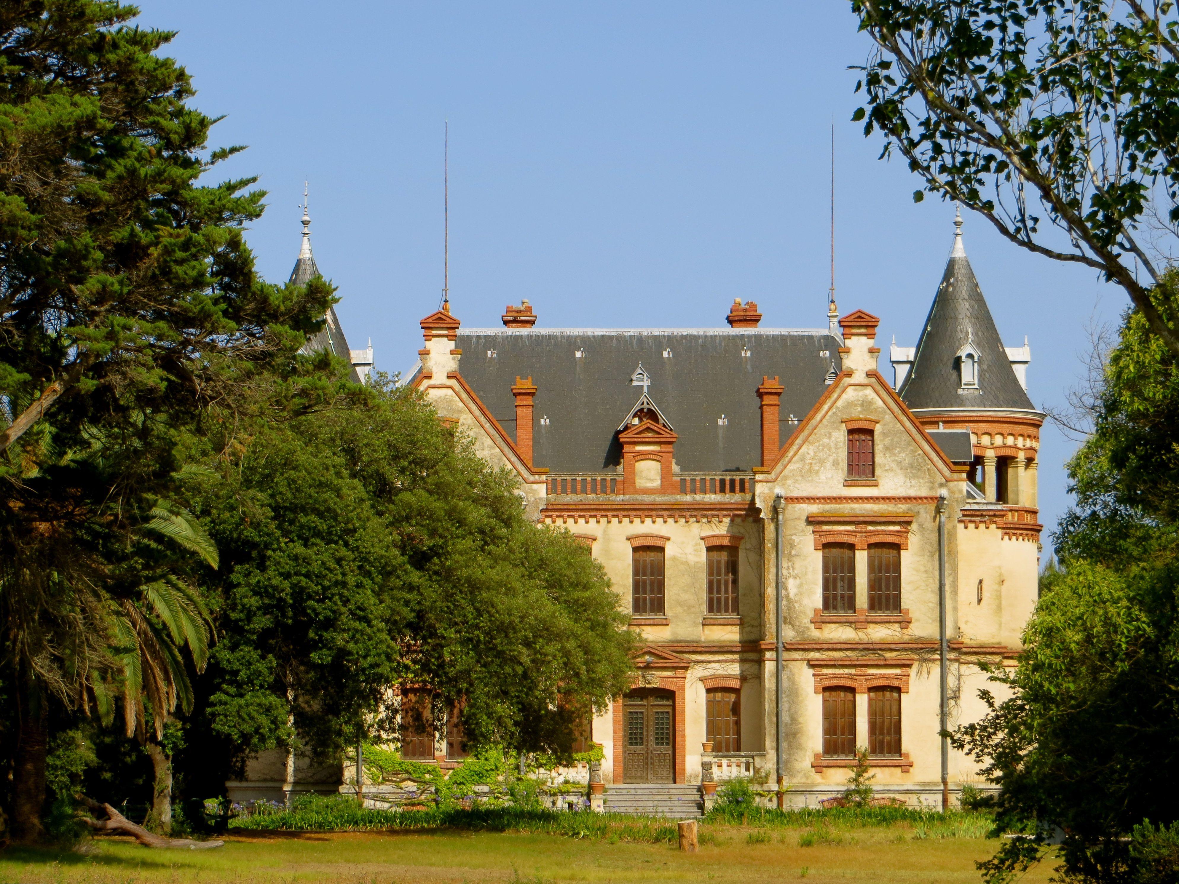 Chateau in Canet-en-Roussillion, France