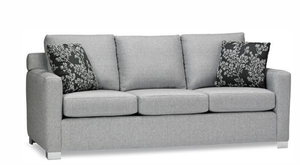 """Stylus Made to Order Sofas Style: Ward Sectional for Media Room (81""""L)"""