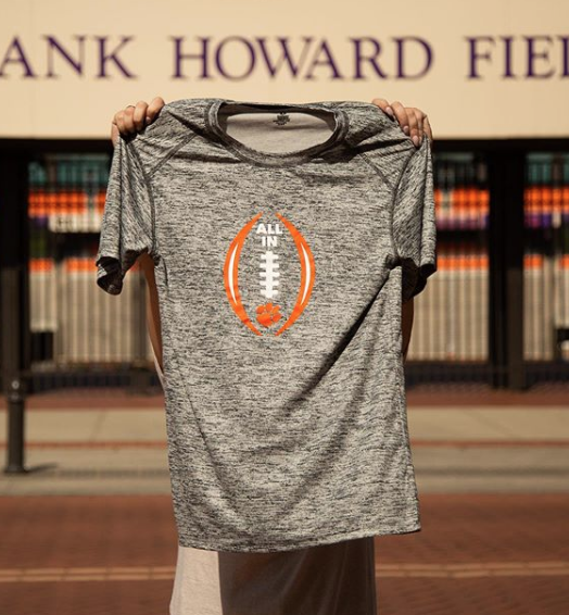 Online Now Shop Youth And Adult Apparel From The Official Clemson Football Camp Store Link In Bio Madeinclemson Football Tees Football Camp Football