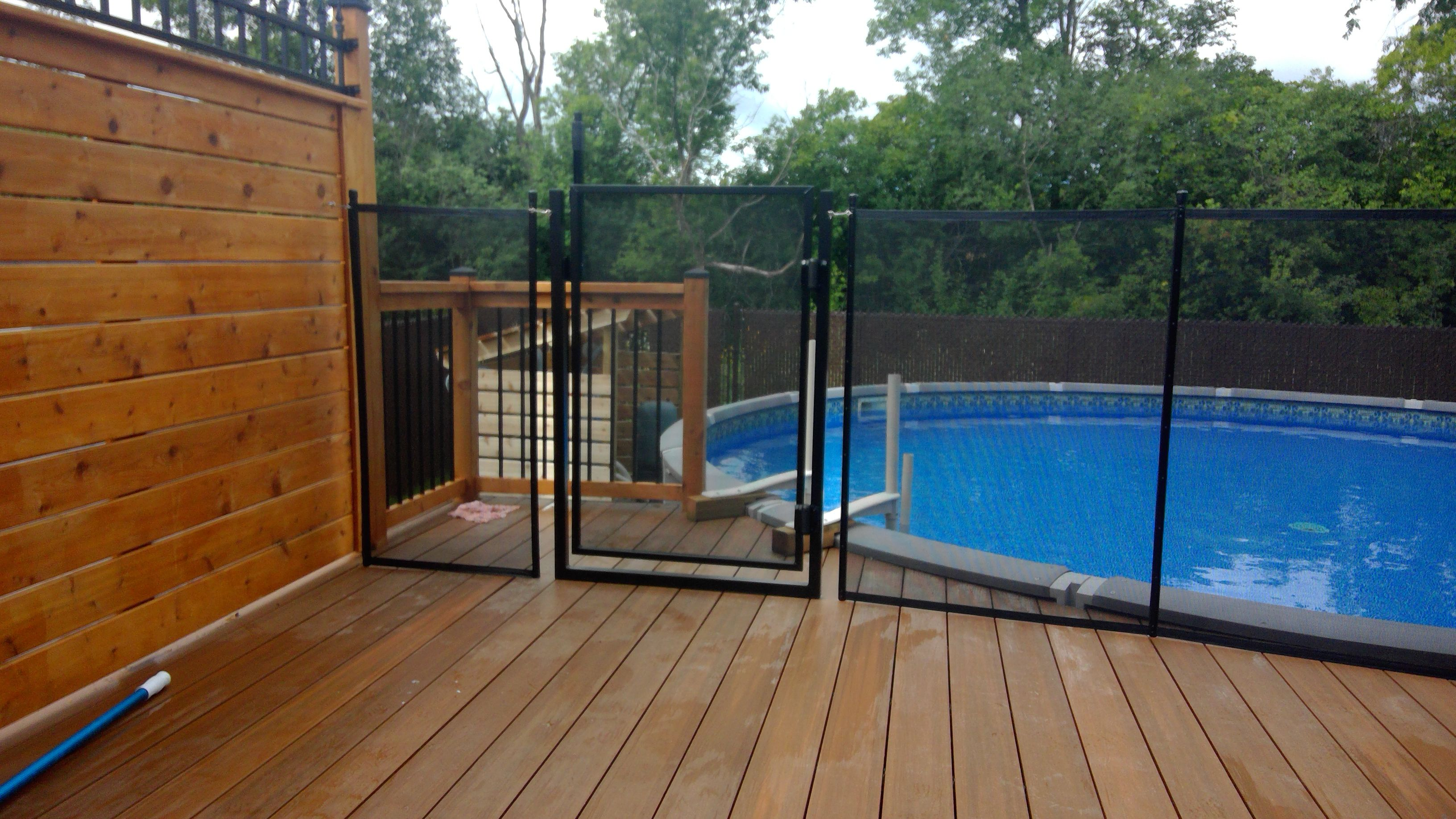 Child safe removable pool fence canadian leader in the