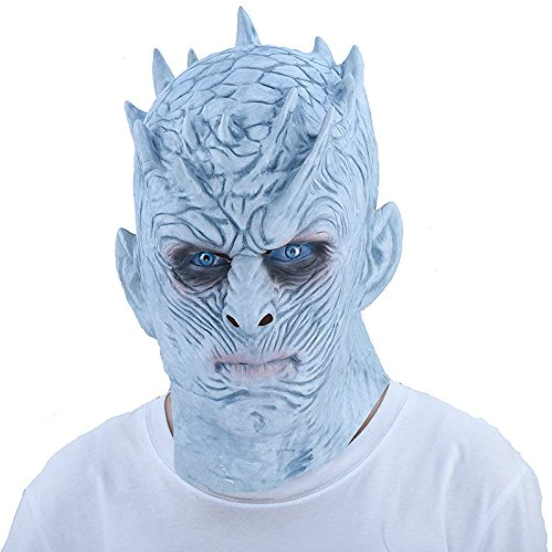 Halloween Game Of Thrones Night/'s King Maske mit Haar Cosplay Party Requisiten