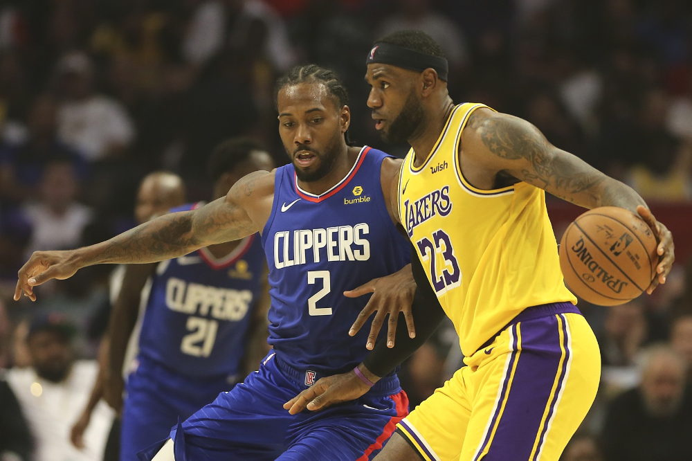 Clippers Beat Lakers In Star Studded Opener Decided By Bench Los Angeles Clippers Nba News Lakers