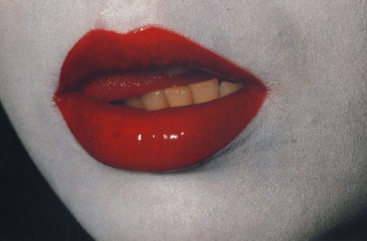 Lyublyu Zheltye Zubki Red Aesthetic Red Lips