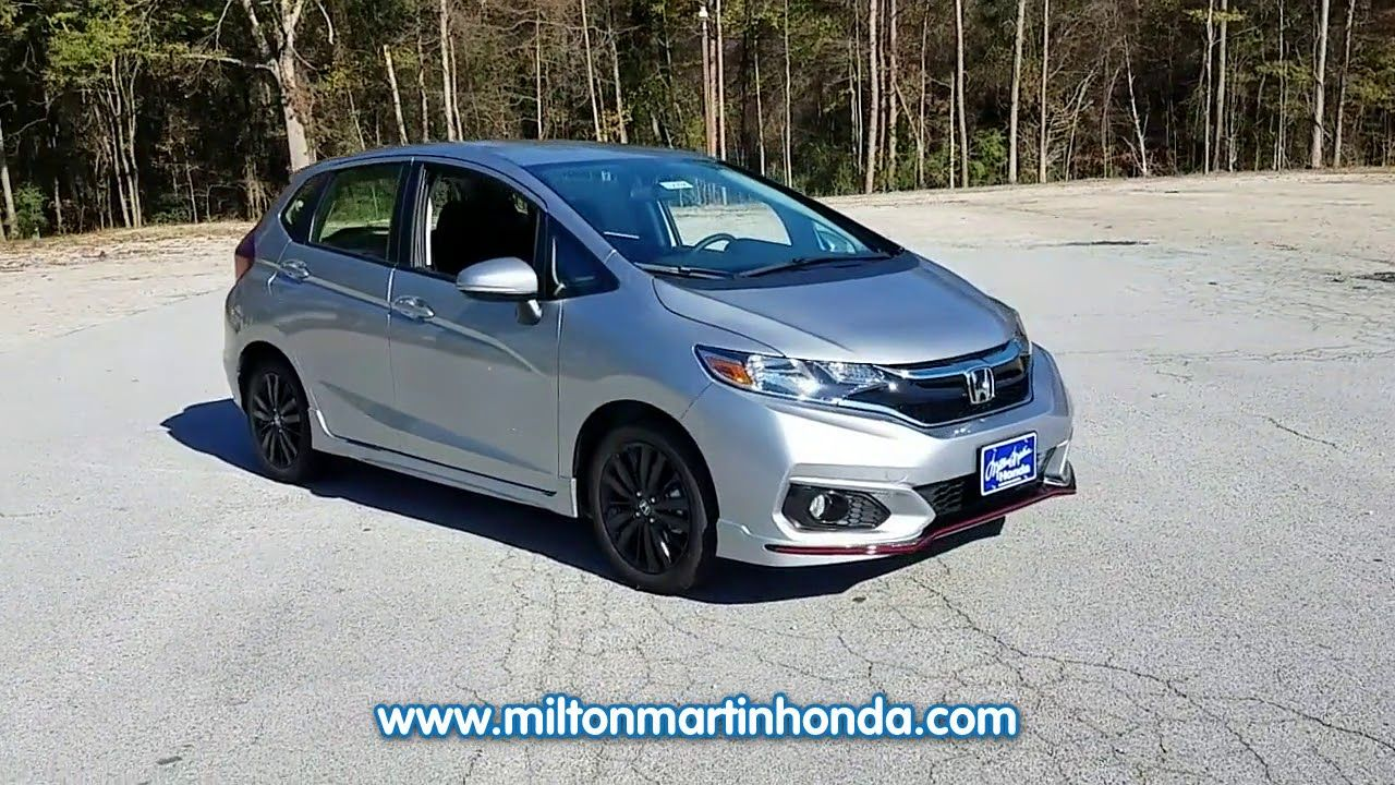 NEW 2018 Honda FIT SPORT CVT at Milton Martin Honda NEW
