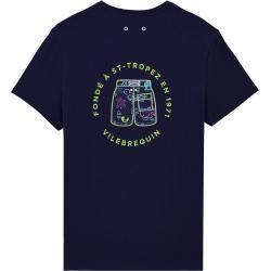 Photo of Men's Ready to Wear – Fondé à St-Tropez Cotton T-Shirt for Men – Florence Broadhurst – T