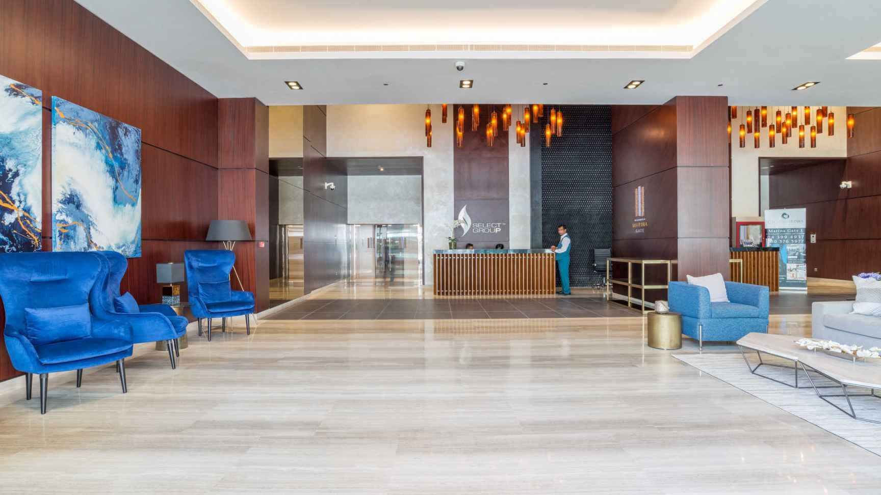 Contemporary Four Bed Duplex At Marina Gate. Dubai