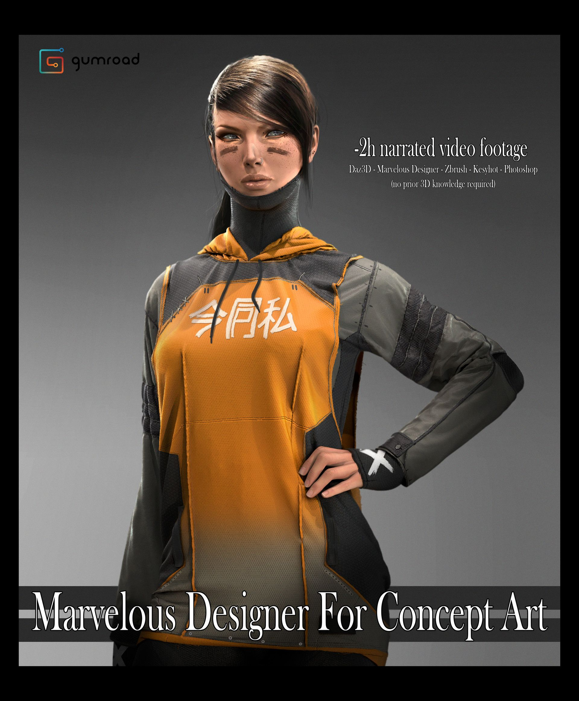 ArtStation - Gumroad - Marvelous Designer For Concept Art, Matthias De Muylder