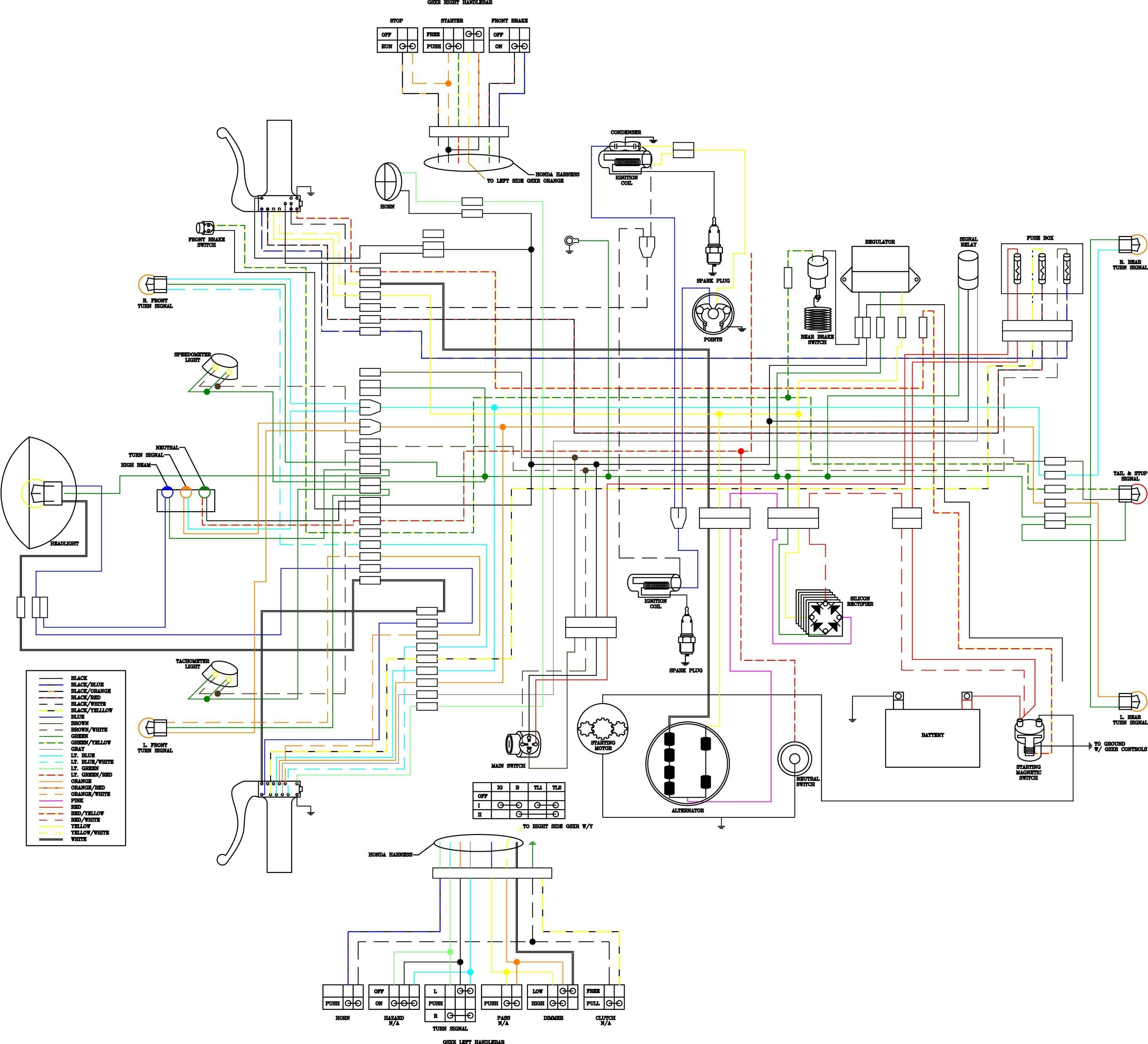 New Cb360 Wiring Diagram In 2020