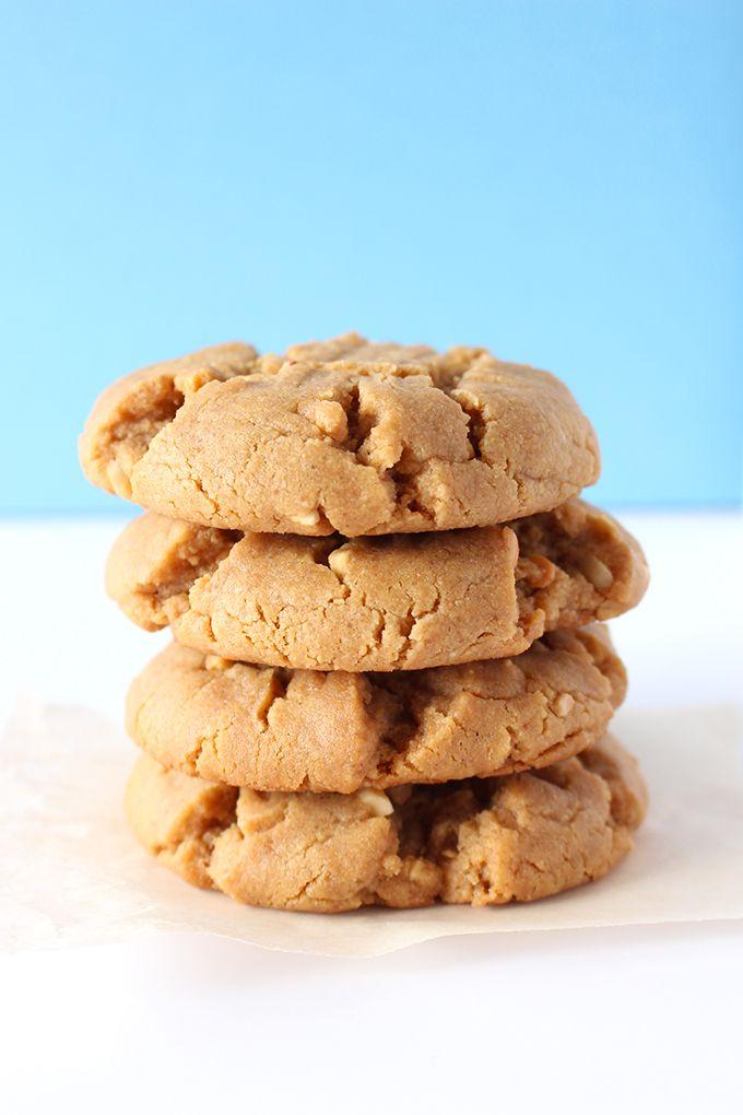 Classic Vegan Peanut Butter Cookies
