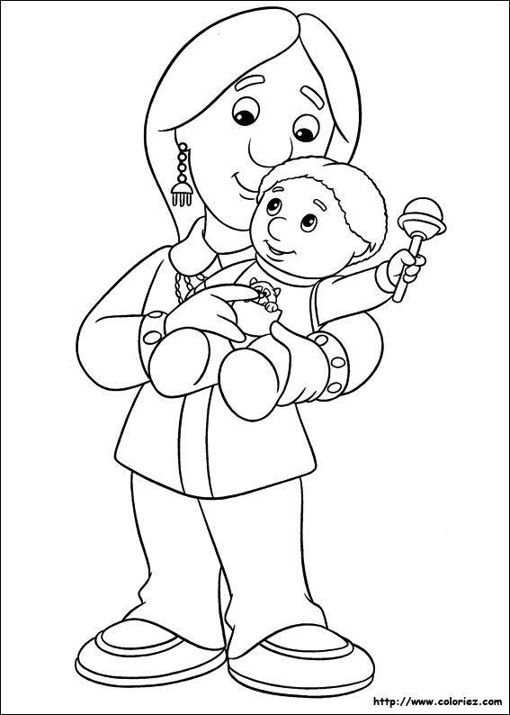 Maman et b b coloriage maman papa coloriage - Dessin de maman ...