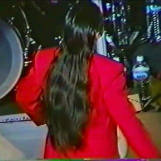 Steve Perry In His Red Tux And Beautiful Long Hair All Us Girls And A Few Guys Wanted His Hair Journey Steve Perry Steve Perry Singer