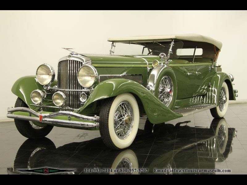 1932 Duesenberg Model J Tourster today this car is only worth 16 ...