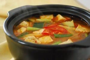 Doenjang Jjigae Korean Soybean Paste Stew Recipe Soup Recipes Recipes Food